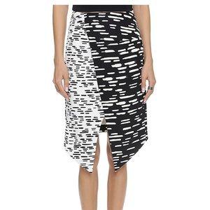 C/Meo asymmetrical skirt
